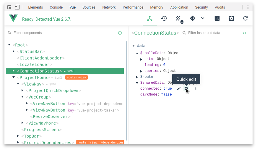 interface-vue-devtools